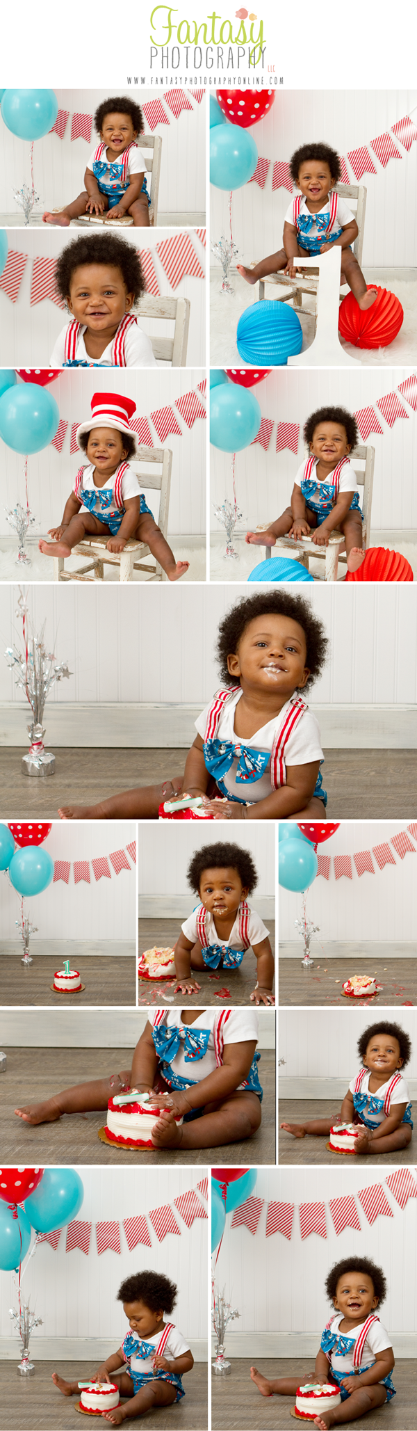 Winston Salem Cake Smash Photographer | Baby Photographers in the Triad